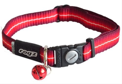 Rogz Cat Collar - Safeloc Buckle - Small fits 8in-12in neck - Sushi